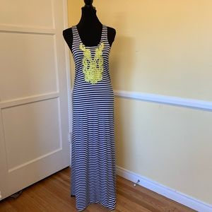 THML Striped Maxi Dress